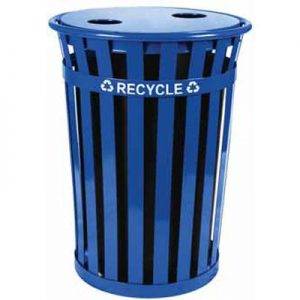 36 Gallon Oakley Recycling Receptacle