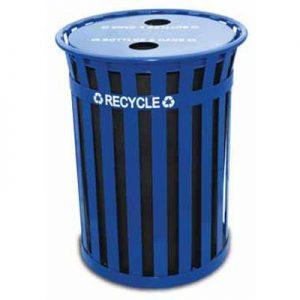 50 Gallon Oakley Recycling Receptacle