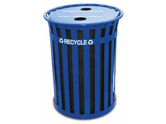 50 Gallon Oakley Recycling Receptacle