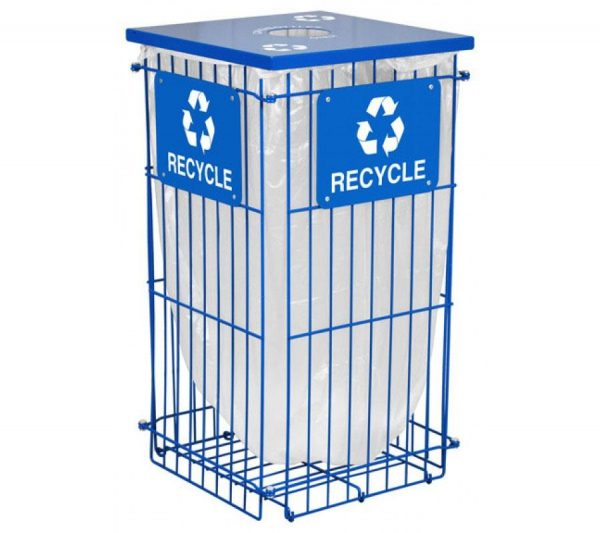 Clean Grid Fully Collapsible Recycling Unit