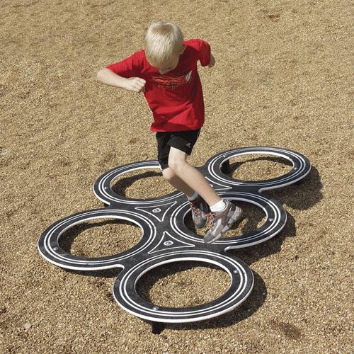 tire challenge playground