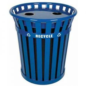36 Gallon Wydman Recycling Receptacle