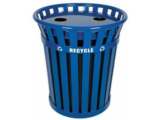 36 Gallon Wydman Recycling Receptacle
