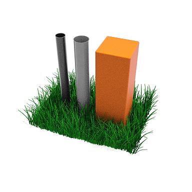 6x6 HDPE lumber