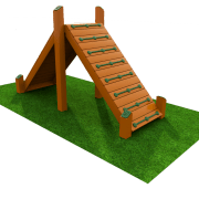 Large Up & Down Ramp – Natural