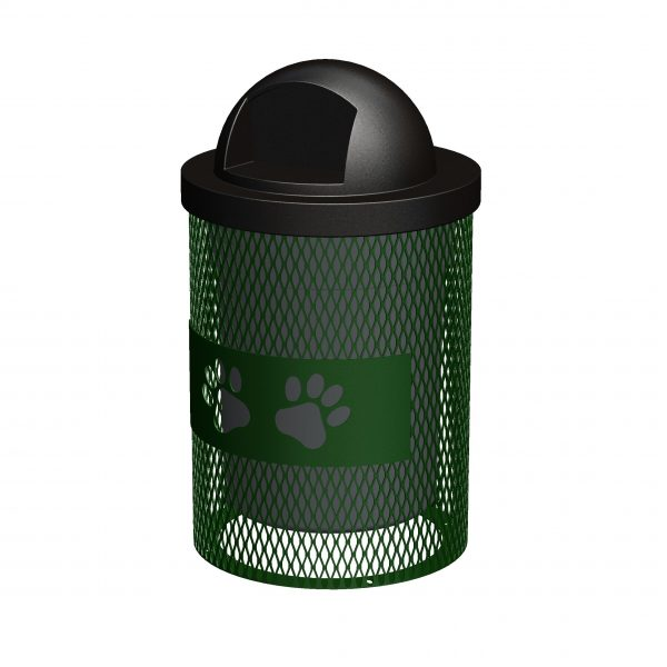 Paws Trash Receptacle