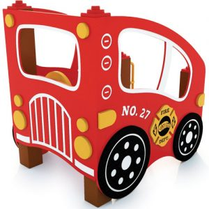 Fire Truck Rider Playhouse