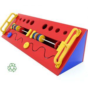 Slide N Slots Sensory box