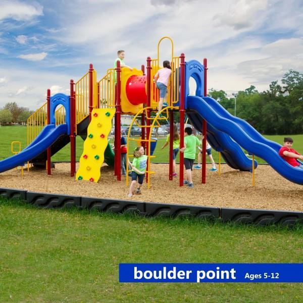 Boulder Point playground system