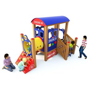 Little Engine Early Childhood Play Structure