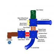 Cumberland Gap Play System Top View