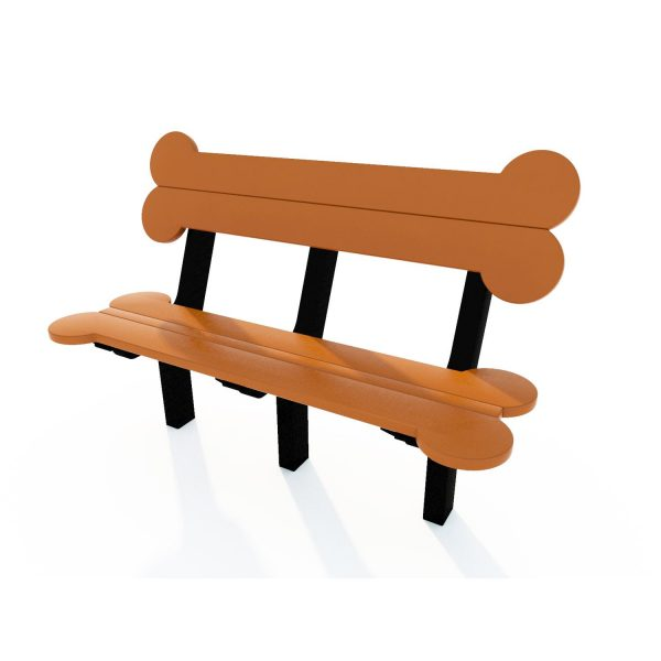 Dog Days Bench with Back