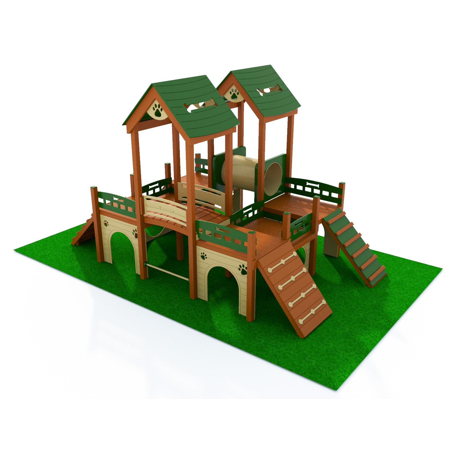 Deluxe Kennel Club Playground Terrabound Solutions