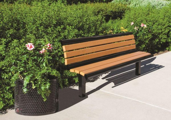 recycled plastic benches, powder coated benches, premium collection benches, bench, benches