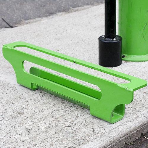 bike pump stop