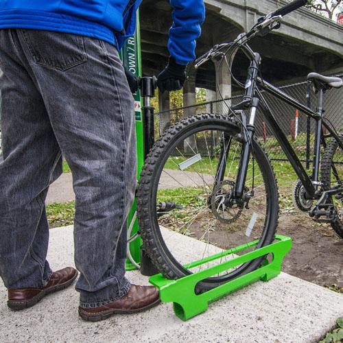 Bike Pump Stop Kit