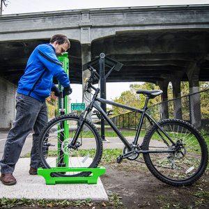 Bike Pump Stops