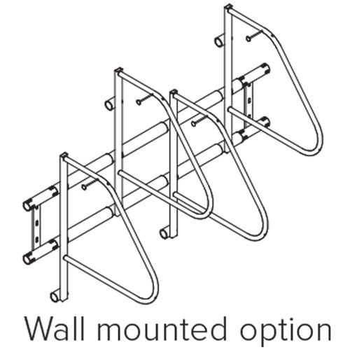 Ultra Space Saver Bike Rack Wall Mount