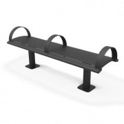 Richmond Steel Bench without back