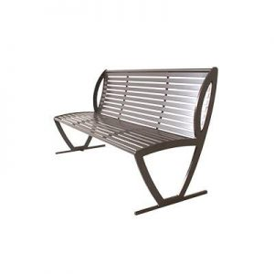 bench, powder coated bench