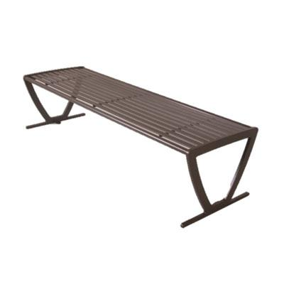 The Augusta Bench without Back is perfect for any outdoor setting!