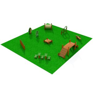 Big League Dog Obstacle Course