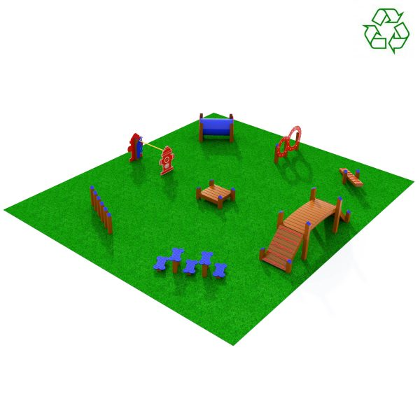 The Big League Dog Obstacle Course