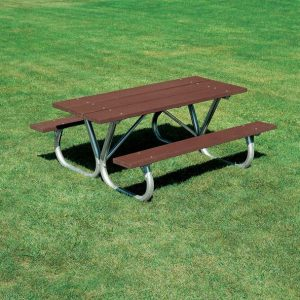 Wood Picnic Tables