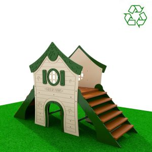 Small Dogs Playhouse Natural