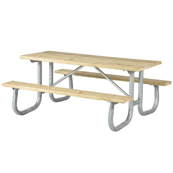 Welded Frame Extra Heavy Duty Picnic Table