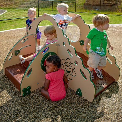 Crawl and Toddle Play Structure