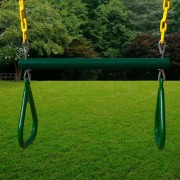 17 Inch Trapeze Bar with Rings outdoor