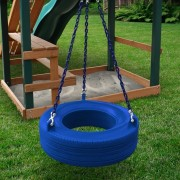 360° Turbo Tire Swing blue