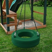 360° Turbo Tire Swing green