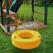 360° Turbo Tire Swing yellow