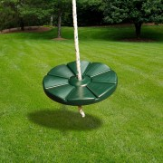 Disc Swing with Rope green