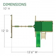 Highcrest Swing Set diagram