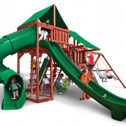 Sun Valley Deluxe Swing Set system
