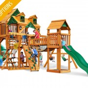 Treasure Trove I Swing Set system