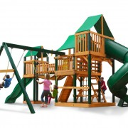 Treasure Trove I Swing Set system back view