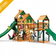 Treasure Trove II Swing Set system