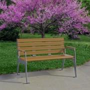 Plaza Park Bench