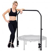 Skybound Nimbus Rebounder Trampoline-Adjustable Handlebar