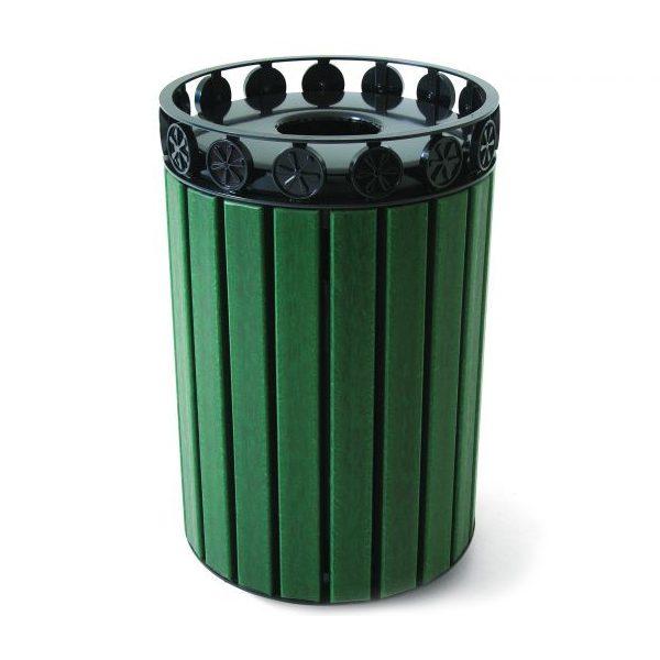 Charleston Recycled Trash Receptacle