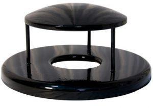 receptacle rain bonnet lid