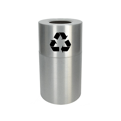 Aluminum Recycling Containers 55 gal