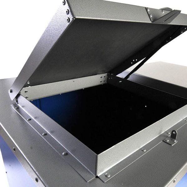 Broot Waste Receptacle double lids top