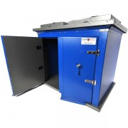 Broot Waste Receptacle front doors