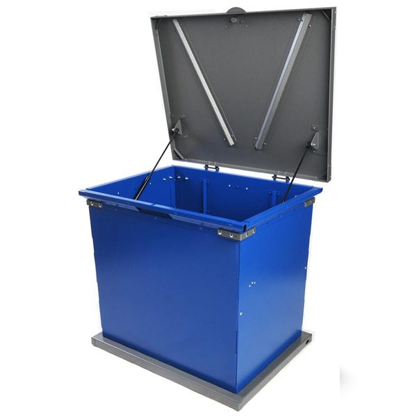 bruin storage container blue charcoal