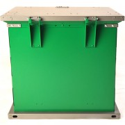 bruin storage container green charcoal hinges